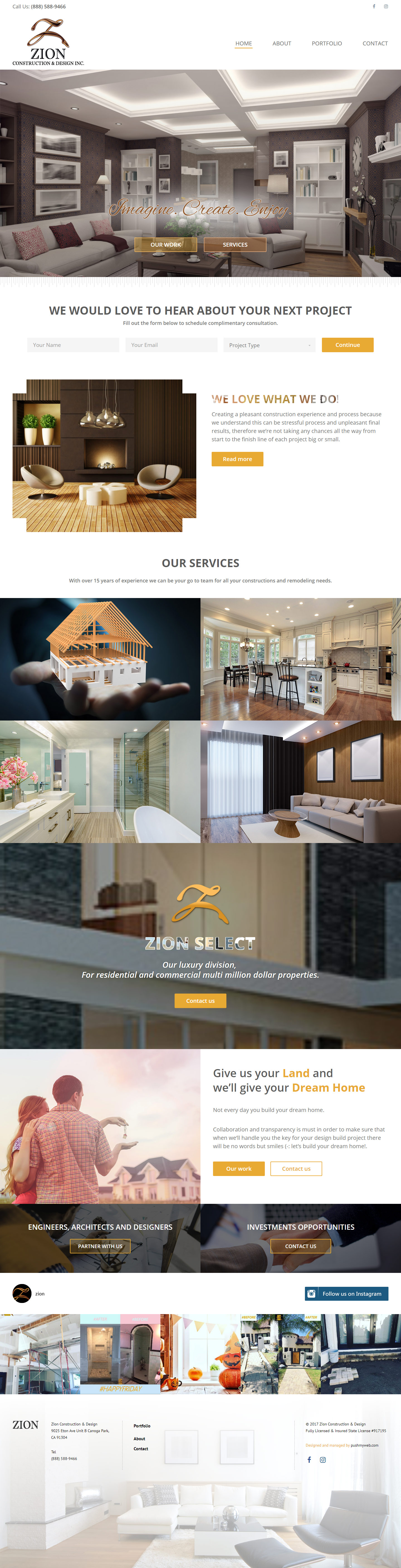 Zion Construction & Design Inc.